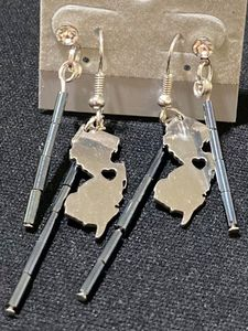 Handmade New Jersey Earrings - Meghan Glynn New Jersey Artist