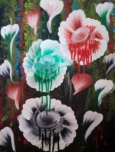 The bleeding flower