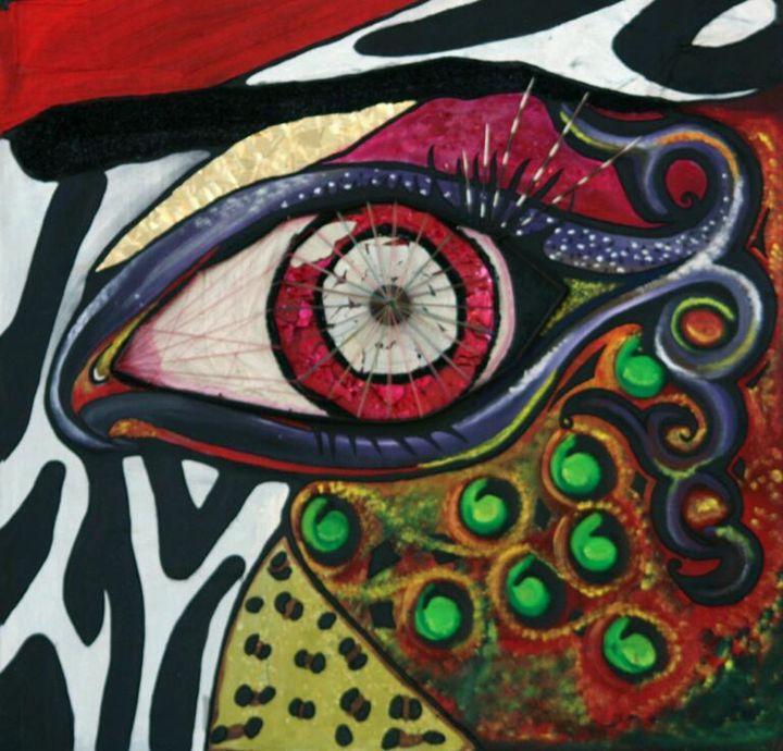 Spiritual Eye - Dandelion Art