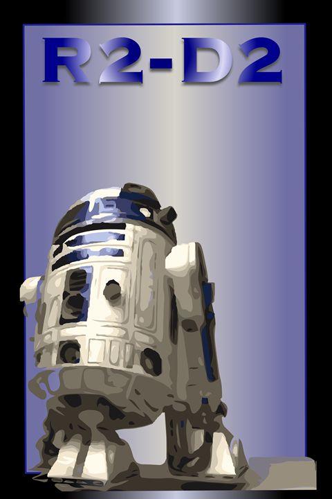 R2-D2 Poster - Matte Hue Innovations