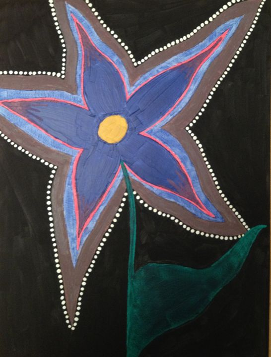Abstract flower - Meriena Kirsopp