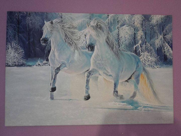 White horses -  Eeericbogdan