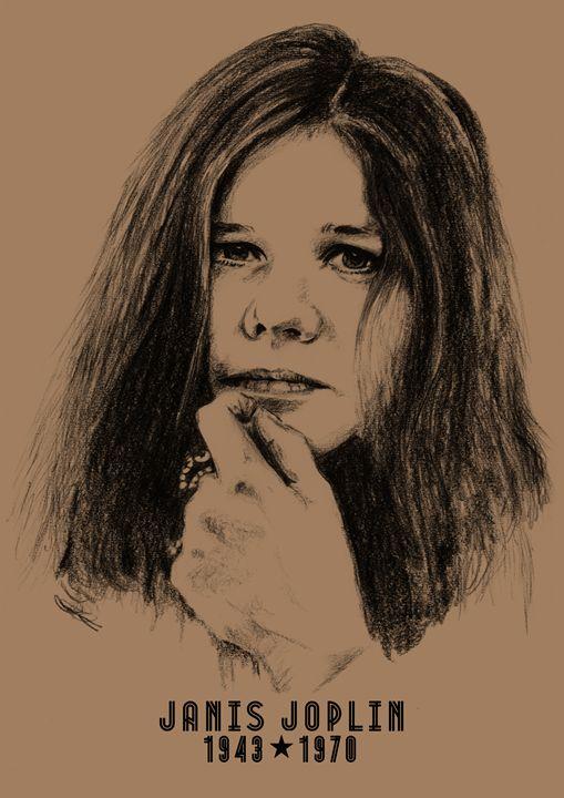 Janis Joplin - Hushland Creative