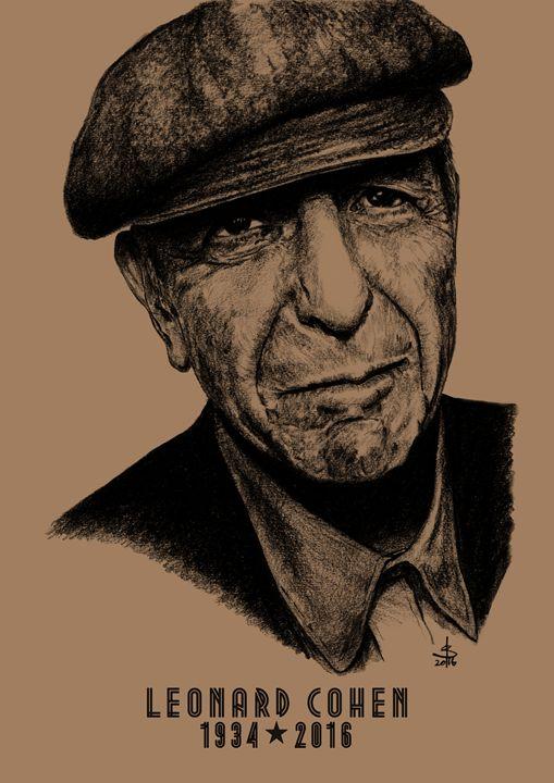 Leonard Cohen - Hushland Creative
