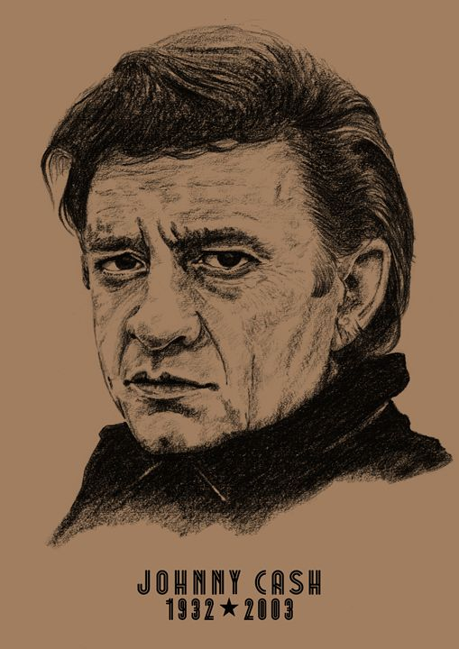 Johnny Cash - Hushland Creative
