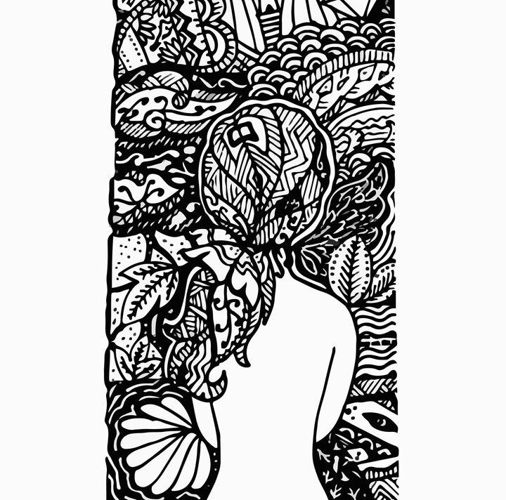 Doodle girl - Qhieu_86