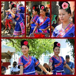 Chinese dancers - Yankee Dervish
