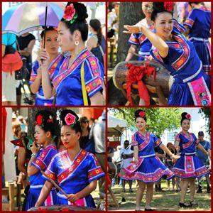 Chinese dancer - Yankee Dervish