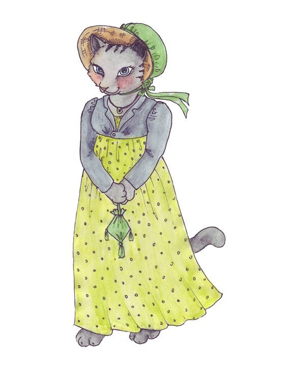 Miss Kitty - Feffie's Cottage