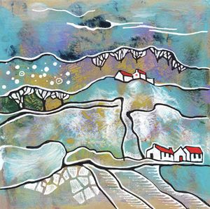 seasonal landscape - winter
