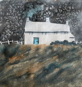White Cottage - Simpson Art