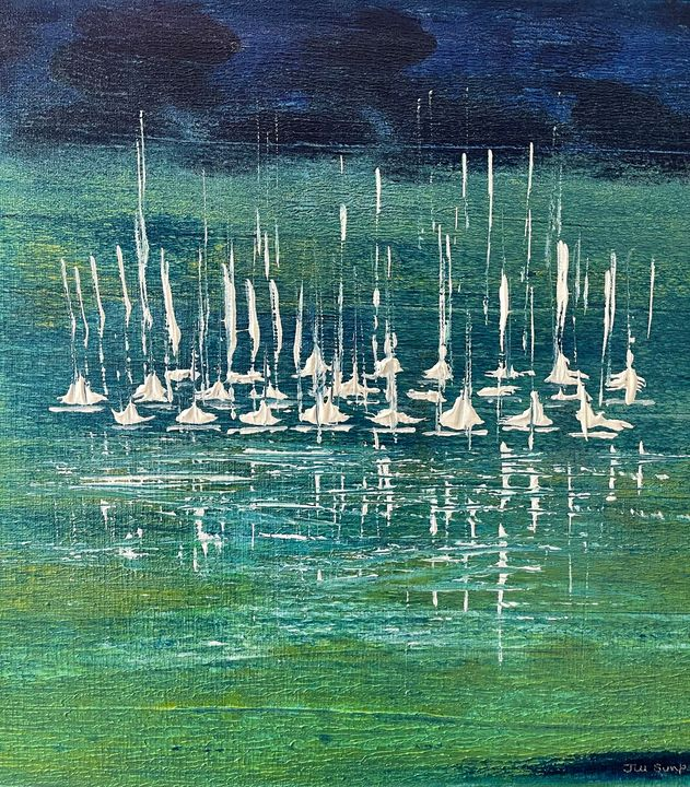Sailing Away - Simpson Art