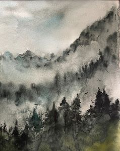 Mist in the mountains