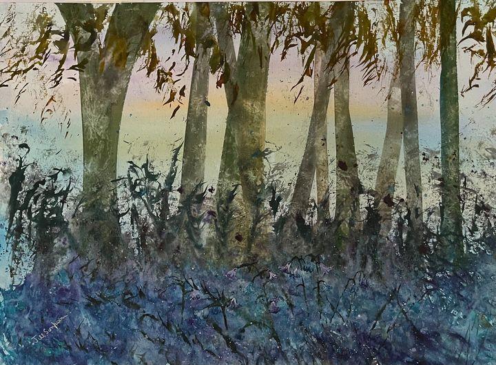 Last Bluebells - Simpson Art