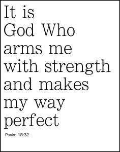 Armed by God