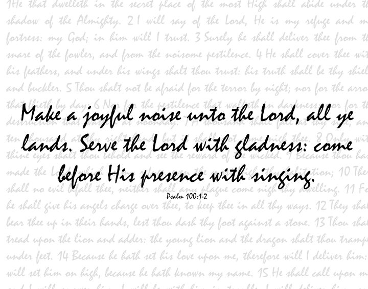 Joyful Noise - Black Letter Pearls