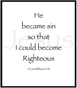 I am Righteous