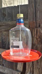 Cheers!  Whiskey Bottle Bird Feeder - Casitas y mas