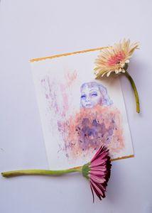 Claudette Colbert portrait