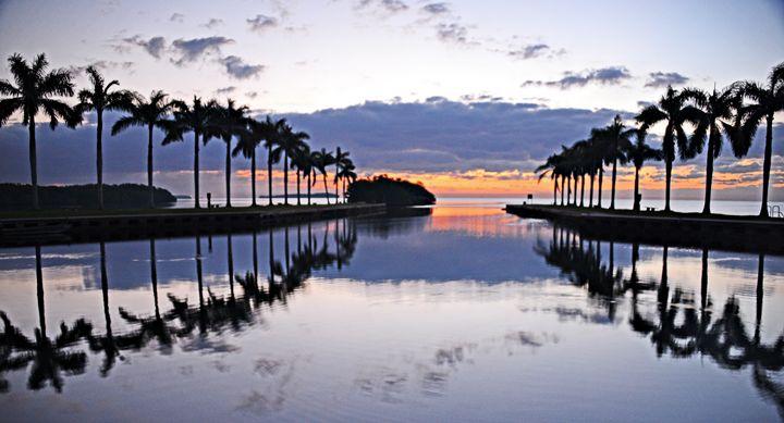 Deering Estate Biscayne Bay Sunrise - AllanE Photography