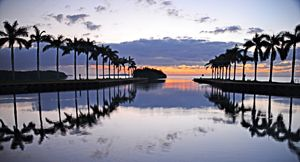 Deering Estate Biscayne Bay Sunrise