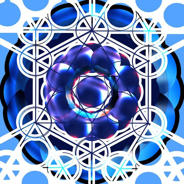 Sacred Geometry Shapes Design - RainbowChildArt