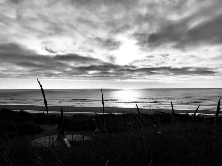 Light on the Pacific, Nye Beach, OR - A.M. Stearns