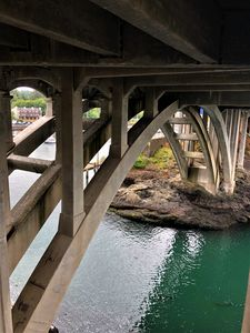 Under the Bridge in Depoe Bay