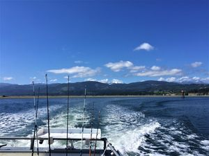 Heading out of Sequim Bay