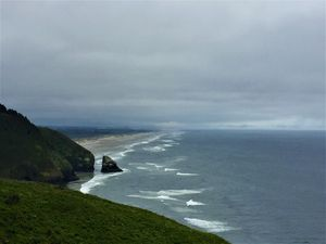 Looking South @ Sea Lion Caves