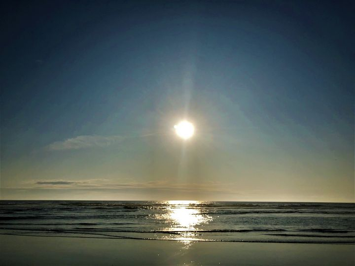 Late Afternoon on Nye Beach - A.M. Stearns