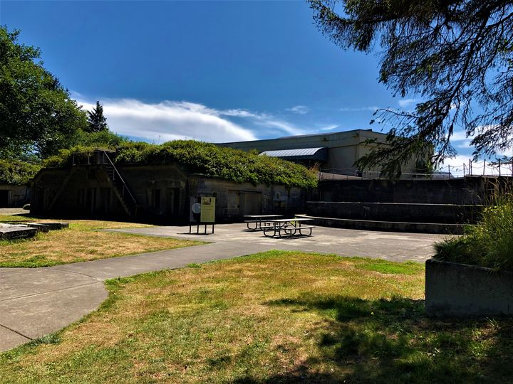 Fort Canby at Cape Disappointment - A.M. Stearns
