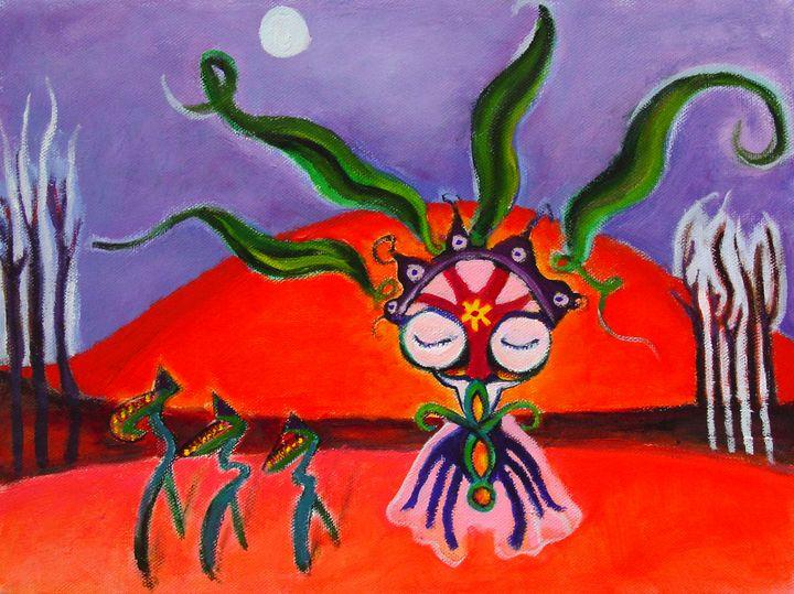 Ant Shaman - Lucretia's  World
