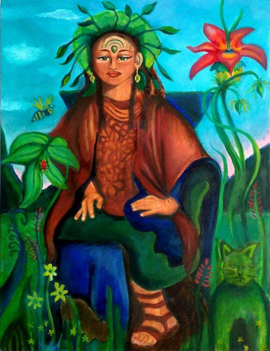 Medicine Woman - Lucretia's  World