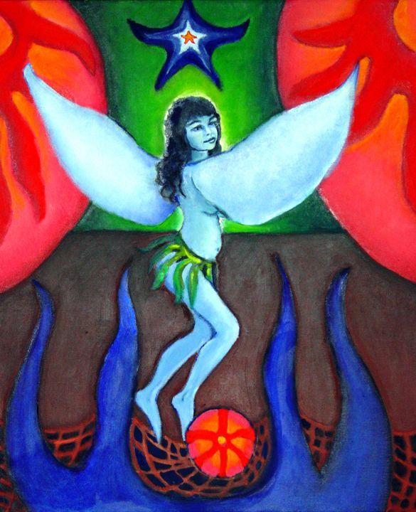 Blue Crystal - Lucretia's  World