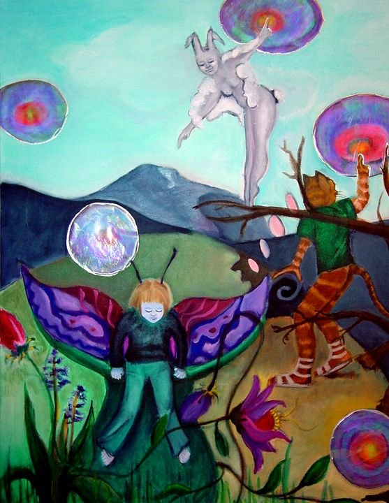 Energy Bubbles - Lucretia's  World