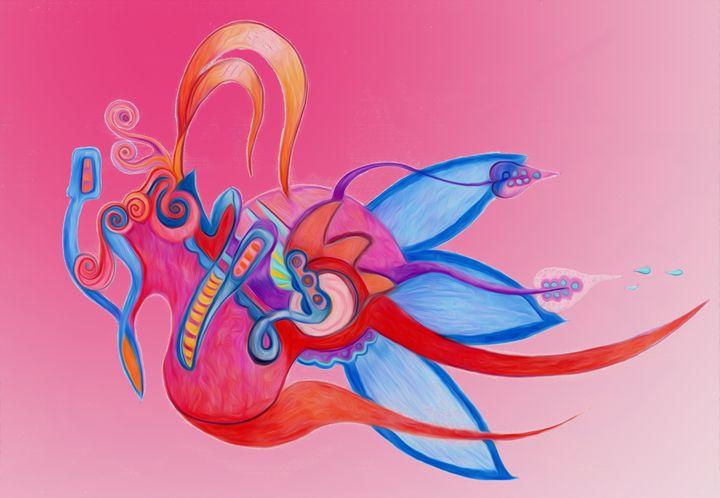 Floral Bird - Lucretia's Mythic World