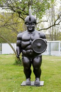 1M Fernando Botero ''Roman Warrior''