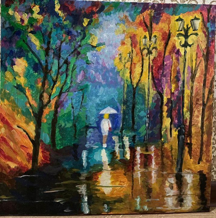 Rainy Day - Kamila Zhakupova