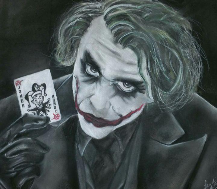 Joker (The Dark Knight) - Horizontal response