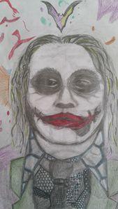 """Heath Ledger as """"Joker"""""""