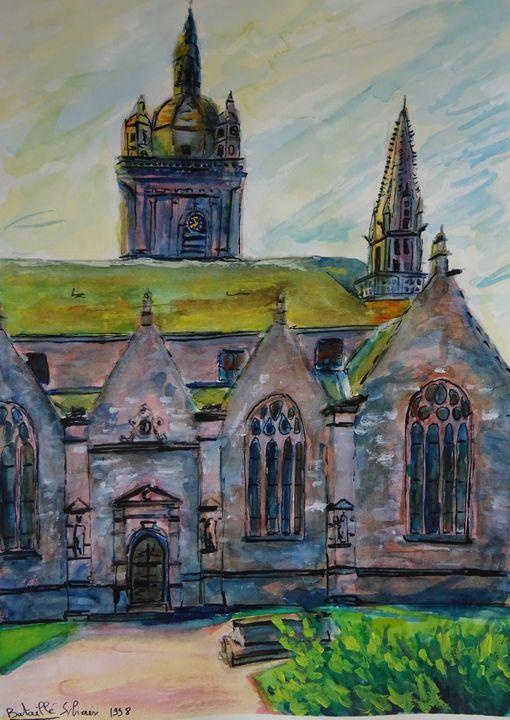 Eglise Bretonne - Sylvain Bataillé