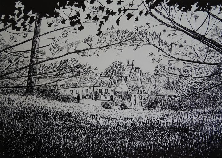Petit Chateau dans la campagne - Sylvain Bataillé