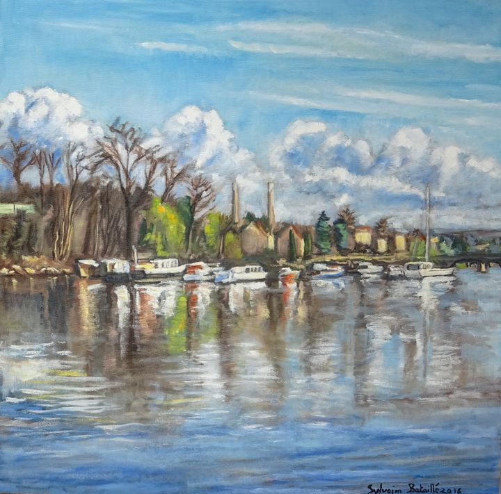 The Seine River in Limay near Paris - Sylvain Bataillé