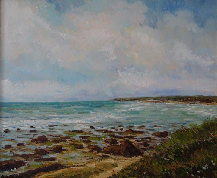 Cote rocheuse sur l'atlantique - Sylvain Bataillé