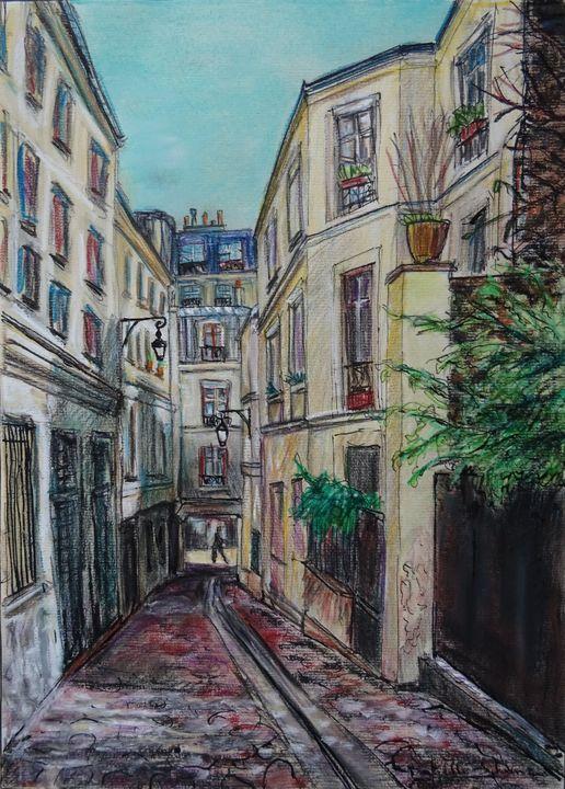 Paris, Passage des Postes - Sylvain Bataillé
