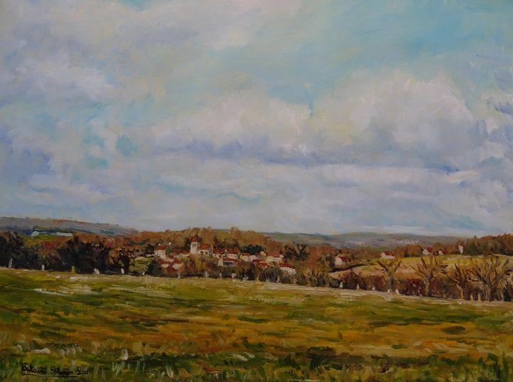 France, village of St Cyr en Arthies - Sylvain Bataillé