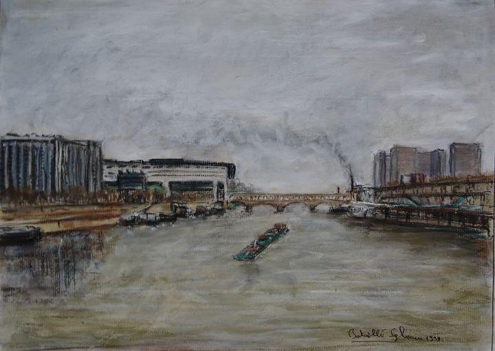 La seine à Bercy - Sylvain Bataillé