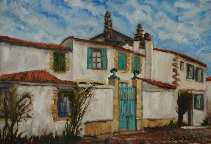 France, Houses of Ré island - Sylvain Bataillé