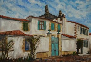 France, Houses of Ré island